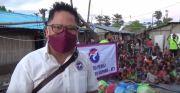 Gerkindo Beri Bantuan Sembako dan Trauma Healing untuk Anak-anak di NTT