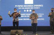 Dinilai Sukses Berdayakan Masyarakat, Pupuk Indonesia Sabet Tiga Penghargaan TOP CSR 2021
