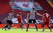 Babak I: Liverpool Unggul atas Newcastle Lewat Gol Indah Mohamed Salah
