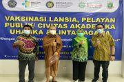 Muhammadiyah Gelar Vaksinasi Lintas Agama di Universitas Buya Hamka