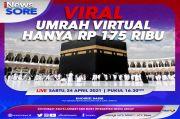 Viral Umrah Virtual Rp175 Ribu, Saksikan di iNews Hari Ini Pukul 16.30 WIB