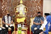 Awali Safari Ramadhan 1442 H, AHY Disambut Hangat di Pendopo Bersejarah Bireuen