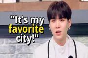 RM Ingin Kunjungi Jakarta, Suga Sebut Makanan Indonesia Enak