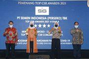 Dirut Semen Indonesia Diganjar Penghargaan Top Leader on CSR Awards