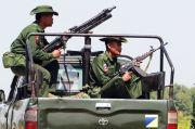 Pasukan Myanmar Lepaskan Tembakan Peringatan ke Kapal Thailand