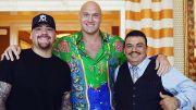 Ketemu Andy Ruiz Jr, Tyson Fury Minta Resep Robohkan Anthony Joshua