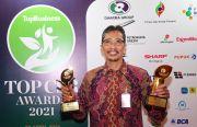 Bank Jatim Raih Dua Penghargaan pada TOP CSR Awards 2021