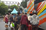 Bus AKAP di Jombor Tetap Beroperasi dan Wajibkan Penumpang Bebas COVID-19