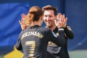Brace Antoine Griezmann Warnai Kemenangan Barcelona atas Villarreal
