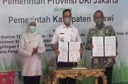 Penuhi Kebutuhan Beras di Jakarta, Anies Teken Kontrak dengan Pemkab Ngawi