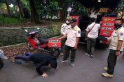 Ngabuburit Tidak Pakai Masker, Belasan Pemotor di Bogor Dihukum Push Up Jelang Buka Puasa