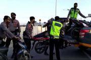 Aksi Balap Liar Usai Sahur yang Gemparkan Kendari Dibubarkan Polisi