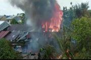 Api Berkobar di Pontianak, Lima Rumah Warga Ludes Tak Tersisa