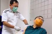 Anang Hermansyah Gemetaran Disuntik Vaksin Nusantara: Wedi Pak!