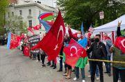Komunitas Turki di AS Gelar Demonstrasi Tolak Pengakuan Genosida Armenia