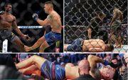 MMA Gempar! Kakinya Terkiwir-kiwir, Chris Weidman Dilarikan ke RS