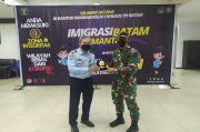 Antisipasi Membludaknya WNI Dari Malaysia, Imigrasi Batam Gandeng Korem 033 Wira Pratama