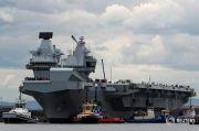 Kapal Induk Inggris Siap ke Asia, Bawa 8 Jet F-35 dan Dikawal 6 Kapal Perang