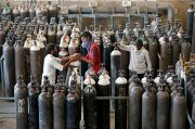 Bantu Hadapi Tsunami Covid-19, Jerman Kirim Oksigen ke India