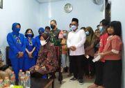 Mensos Risma Kunjungi Keluarga Prajurit KRI Nanggala 402