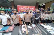Seram! Begini Senjata Tajam yang Dibawa Pelaku Kejahatan di Kota Bogor selama Ramadhan