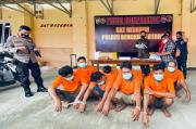 Asik Main, 8 Penjudi Jenis Samgong dan Mucikari Diamankan Tanpa Perlawanan