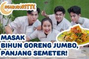 Berbagi Makanan Buka Puasa, Gritte Agatha Masak Bihun Goreng Semeter
