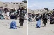 Beredar Video Wanita Afghanistan Memohon Ampun Dicambuk Taliban 40 Kali