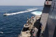 Kapal Garda Revolusi Iran Keroyok Kapal Penjaga Pantai AS di Teluk Persia