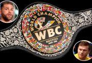 Inilah Sabuk Mestizo WBC Yang Diperebutkan Canelo vs Saunders
