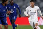 Chelsea Imbangi Madrid, Eden Hazard: Saya Tidak Terkejut