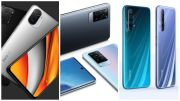 Ini Perbandingan POCO F3 5G vs Vivo X60 Pro vs Realme X50 Pro