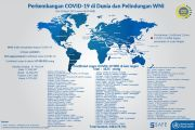 Kemlu: 4.425 WNI Terkonfirmasi Covid-19 di Luar Negeri