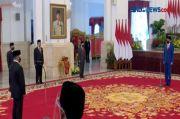 Jokowi Resmi Lantik Mendikbudristek, Menteri Investasi dan Kepala BRIN