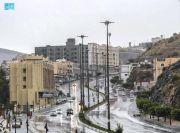 Banjir dan Hujan Es di Makkah Reda, Warga dan Jamaah Umrah Gembira