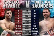 Saunders Beri Canelo Kekalahan Kedua, Tyson Fury: Itu Terjadi!