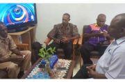 Dinas Kominfo Jayapura Siap Bantu Pemasangan VSAT di Empat Kampung di Kemtuk Gresi