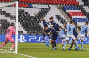 Babak I PSG vs Man City: Marquinhos Bawa Les Parisien Unggul