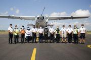 Dukung Pariwisata Indonesia, Balitbanghub Uji Operasional Pesawat Apung
