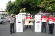 Bantu Cegah Covid-19, JNE Beri Alat Pelindung Diri untuk Polda Metro Jaya