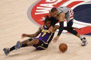 Hasil Pertandingan NBA, Kamis (29/4/2021): Lakers Tumbang di Kandang Wizards