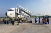 3 Pesawat Boeing 737 Angkut Keluarga KRI Nanggala-402 ke Lokasi Tabur Bunga