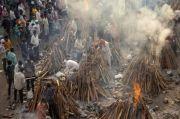 Kematian Akibat Kasus Covid-19 di India Terus Meningkat, Kremasi Dilakukan Hingga di Tempat Parkir
