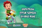 Kayuh Sepedanya Lebih Kencang dengan Power Serum, Mainkan Game Kiko Run