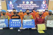 19 Tersangka Kasus Narkoba Diamankan di Bogor, Dua di Antaranya Pasutri