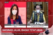 Percepat Capai Herd Immunity 181,5 Juta Penduduk, Masjid Siap Jadi Sentra Vaksinasi
