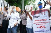 Dicuekin Erick Thohir, Pensiunan Nasabah Jiwasraya Geruduk Gedung Kemen-BUMN