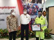 Emergency Response Team JRBM Peroleh Penghargaan dari Menteri ESDM