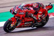 Hasil FP2 MotoGP Jerez: Bagnaia Tercepat, Marquez-Rossi Memble