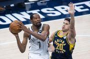 Hasil Pertandingan NBA, Jumat (30/4/2021): Nets Belum Terbendung